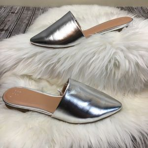 A new day  metallic mules